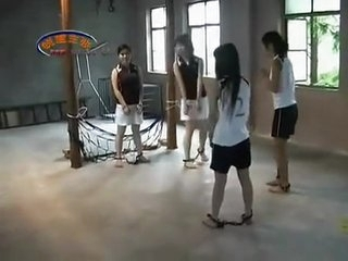 Chinese Girls Playing Football In Bondage