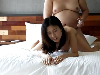 Fat man fucking chinese hooker 2