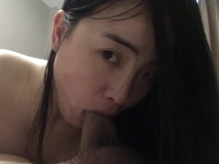 Hot ass Asian home made 69 blowjob