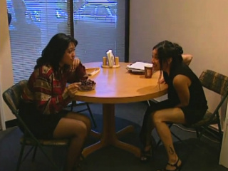 Asian girls are awesome at eating pussy