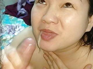 Asian friend wants my cum 8. Cum swallowing,