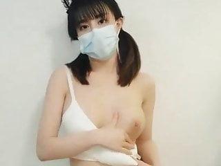 Sino-Japanese mixed Shimizu Mina