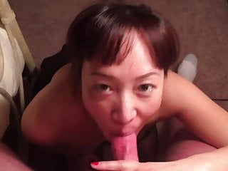 Chinese aunt sucking queen