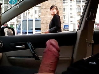Dick flash in car in Beijing 2016101