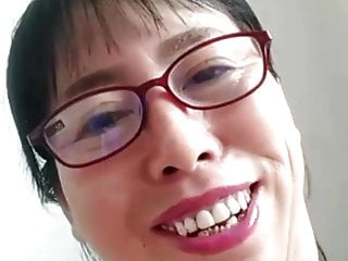 60 year old woman with her younger BF on cam chat