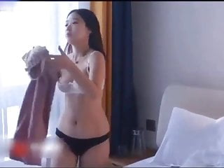 Adventurous Chinese girl is curious about porn!