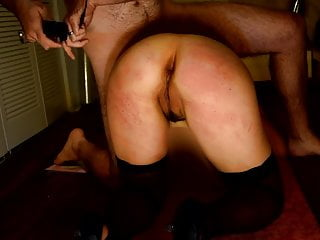 Wife Gets 50 Belt Strokes on Her Ass & Pussy