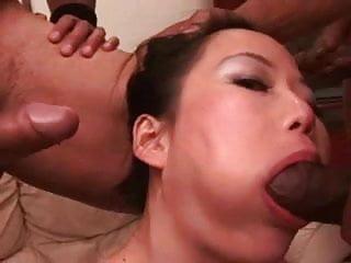 Niya Yu - Interracial Gangbang
