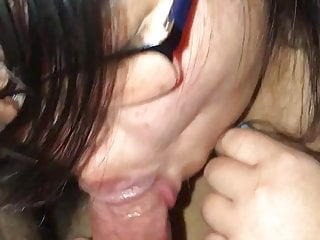 Asian BBW Slut Titfuck BJ