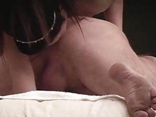Chinese milf rims my mass before I fuck her ass