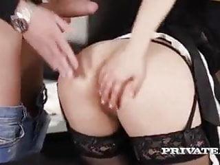 Beautiful Asian Katana having sex in maid's uniform