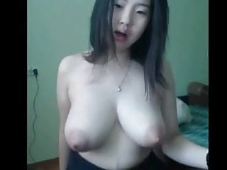 Asian wife with big tits