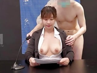 Chinese Weather Girl Got Fucked