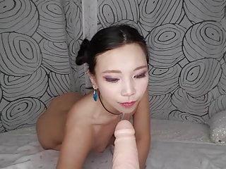Asian Ride Creampie