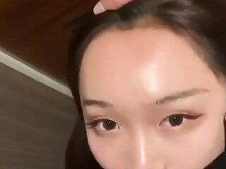 Chinese girl face fuck