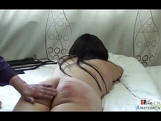 Endurance experiment after enema, getting a red ass