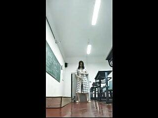 Masturbation in room of Wuhan