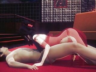 Beautiful  Chinese Girl - 3D Hentai - (Uncensored)