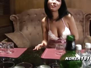 KOREA1818.COM - Hot Busty Barmaid ROOM SALON