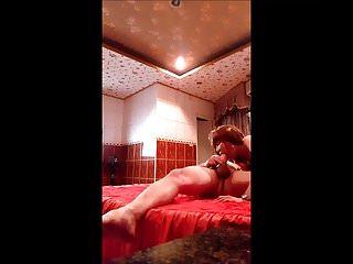 korean cum in mouth HD in a Hotel