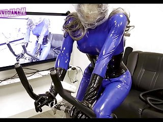 Anaerobic Exercise gas mask Rubber latex Breath Play